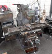 Cincinnati Milling Machine S/n 892986