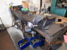 Record No. 6 Engineers Vice with Work Bench