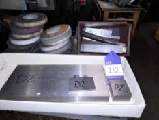 Quantity of Various Tool Steel to 2 Boxes