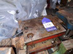 Unknown Bracket Pierce / Form Press Tool