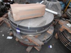 Quantity of Various Steel Strip, approx. 1500Kg