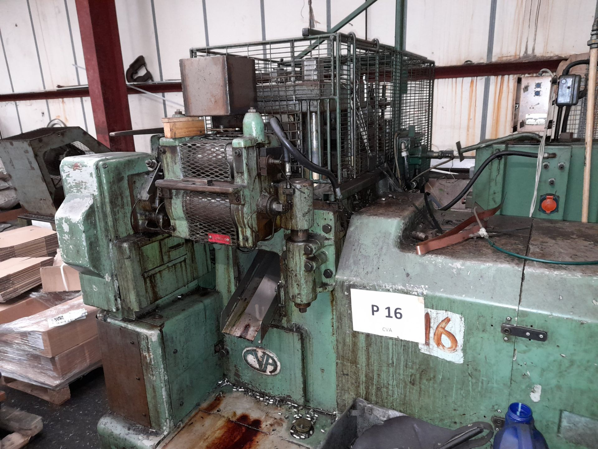 80 Rockwell 25 Ton DP MT/188T Multi Slide Forming Press with 10mm Raschig Ring Tool - Image 5 of 9