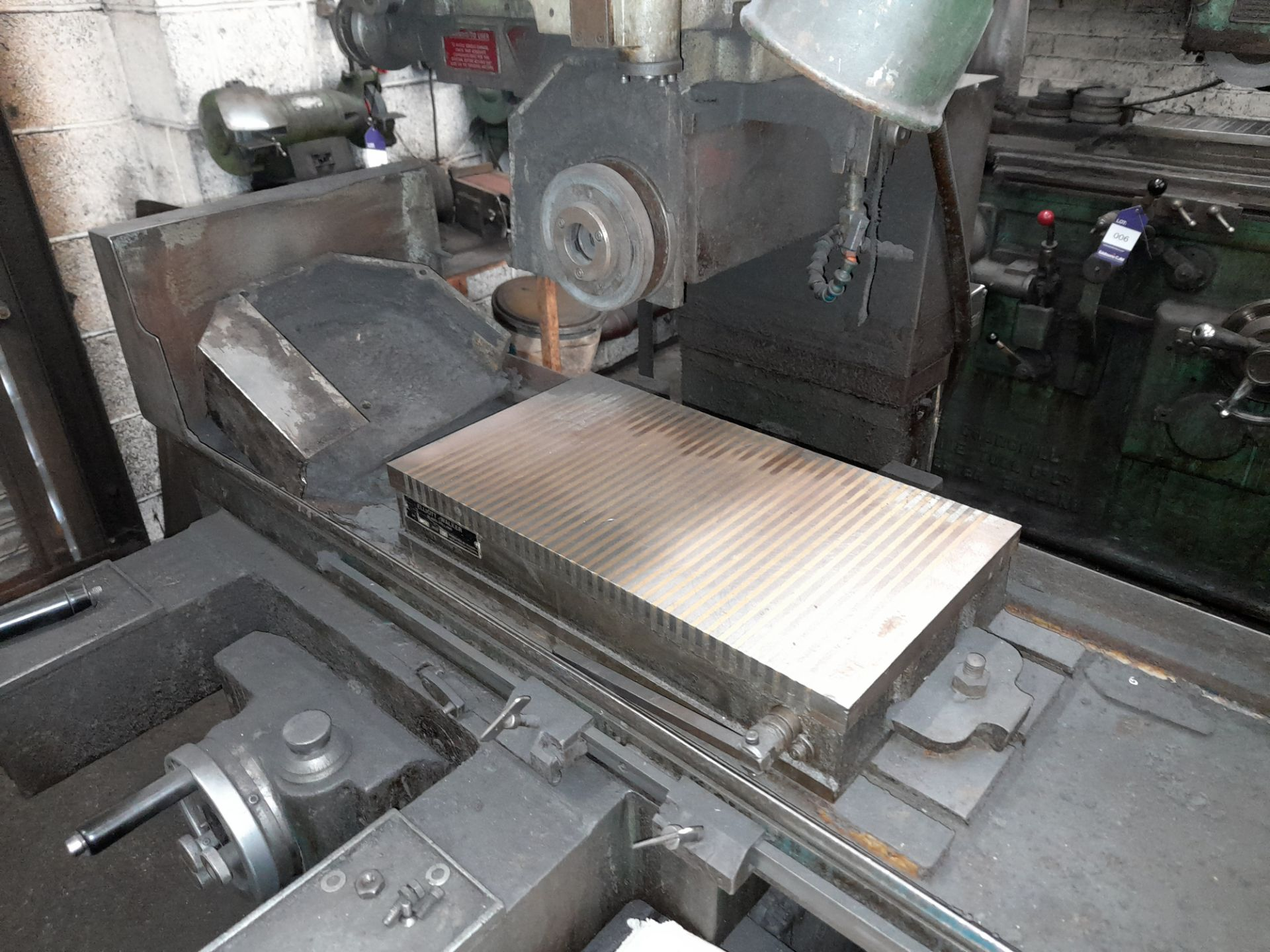Elliott 1018 Surface Grinder with Magnetic work piece table, S/n 2814/5/2 - Image 3 of 7