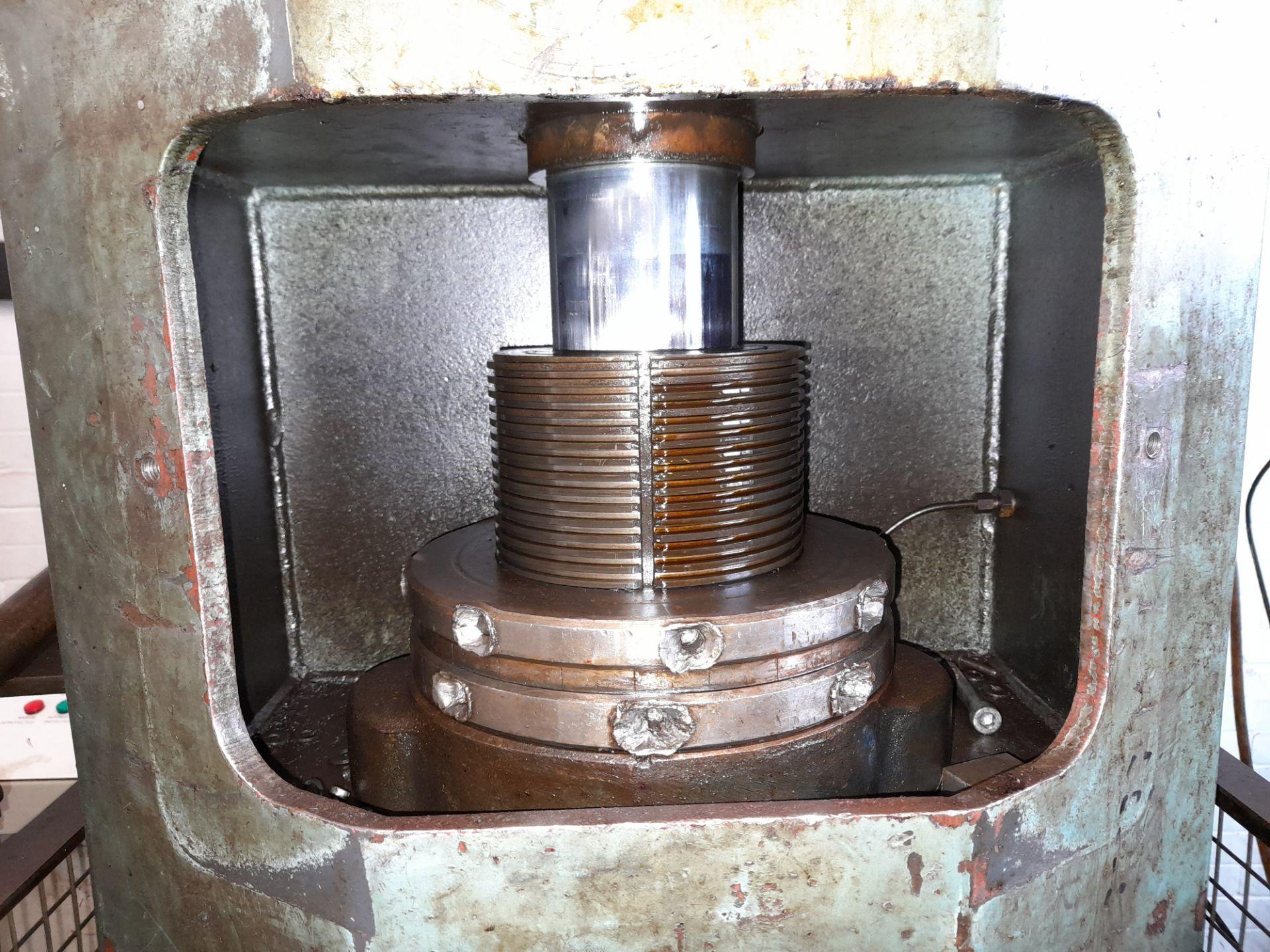 Norton Hydraulic Down Stroking Press, S/n B188403 - Image 2 of 5