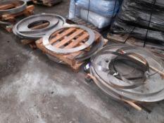Quantity of Various Steel/Aluminium Strip, to 9 Pallets