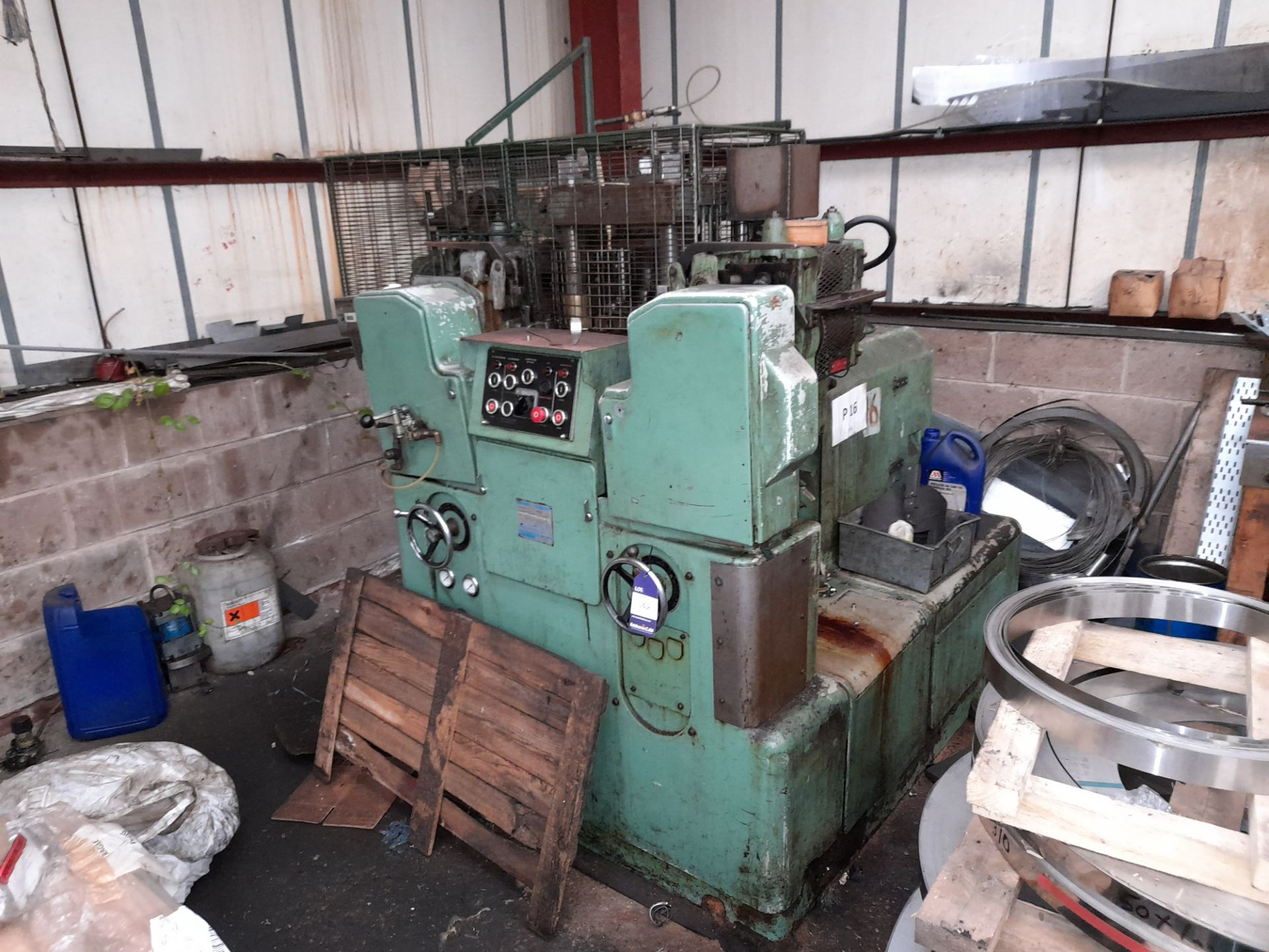 80 Rockwell 25 Ton DP MT/188T Multi Slide Forming Press with 10mm Raschig Ring Tool