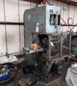 Norton Hydraulic Down Stroking Press with 3.5in Pa