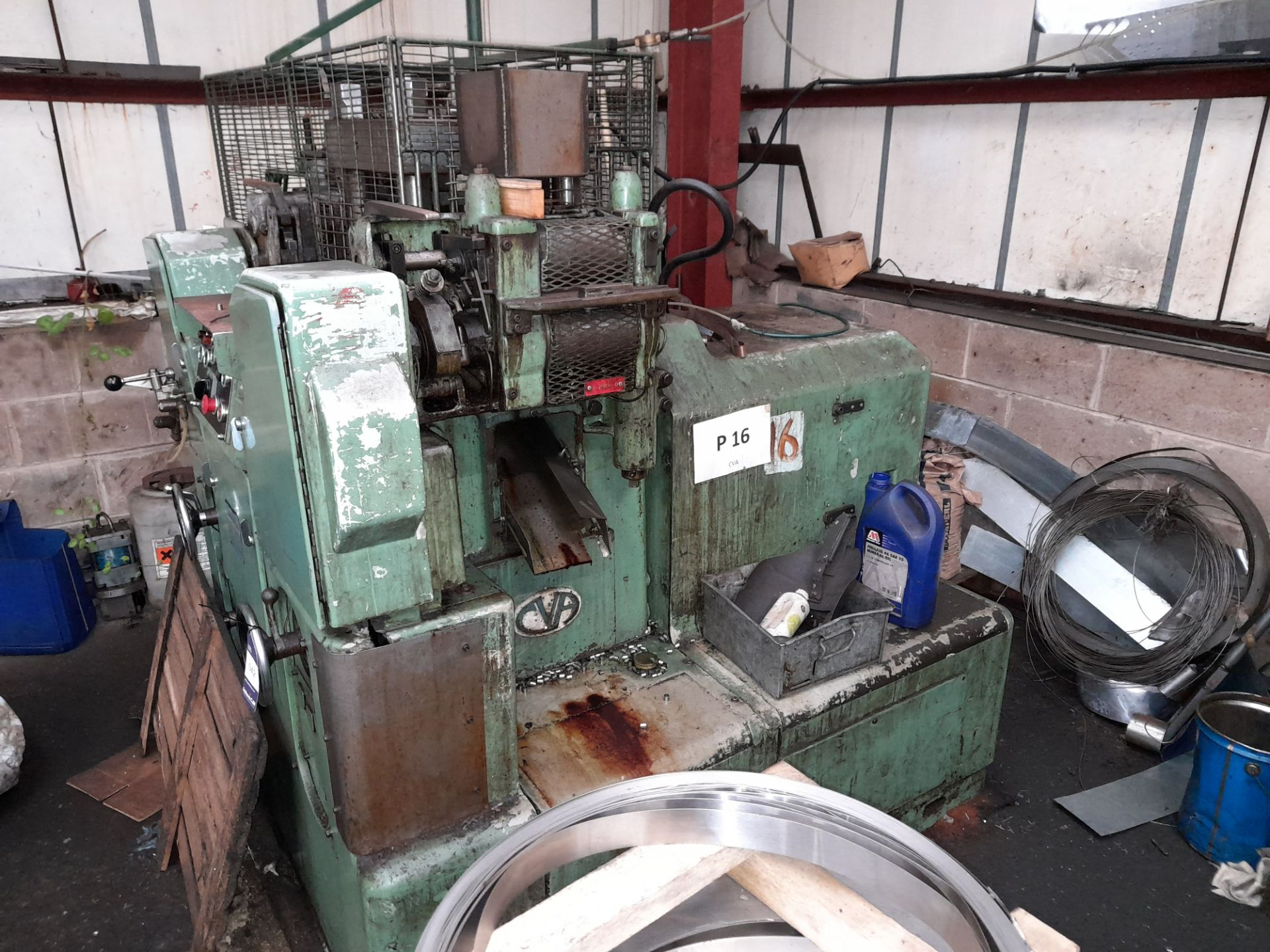 80 Rockwell 25 Ton DP MT/188T Multi Slide Forming Press with 10mm Raschig Ring Tool - Image 4 of 9