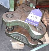 Clamp Pierce / Form Press Tool