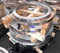 Quantity of Various Stainless-Steel Strip, 316, approx. 1200 Kg