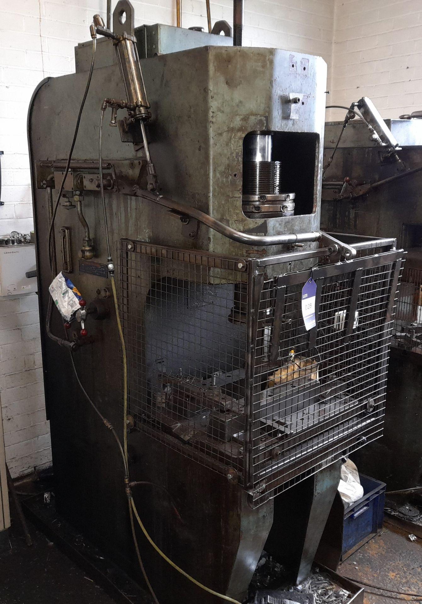 Norton Hydraulic Down Stroking Press, S/n B188403 - Image 4 of 5