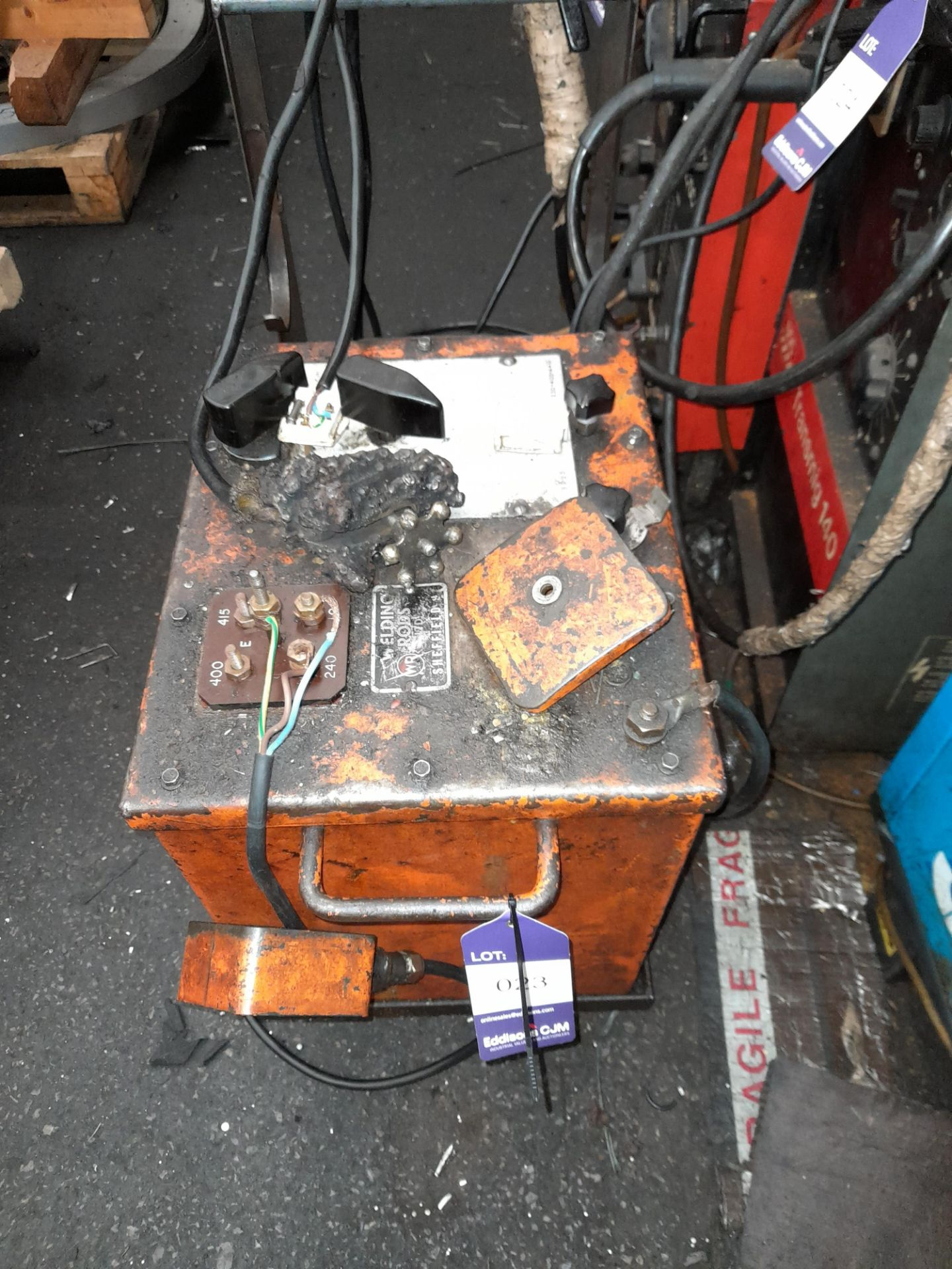 Welding Rods Limited, Oil Filled Arc Welding Set
