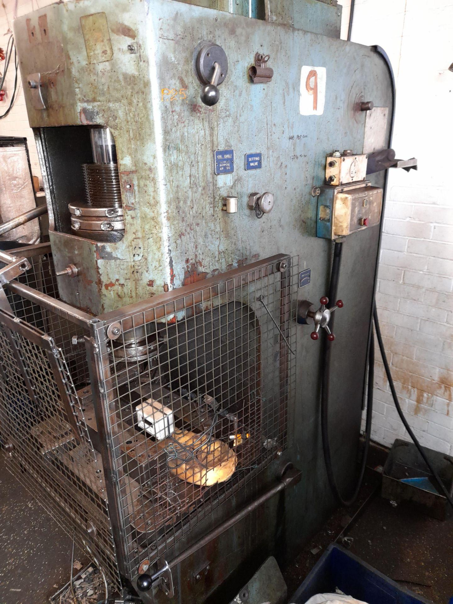 Norton Hydraulic Down Stroking Press, S/n B188403 - Image 5 of 5