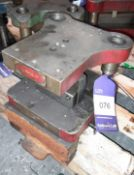 Valve Form Press Tool
