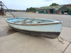 GRP Sailing/Rowing Boat- ex sea cadets