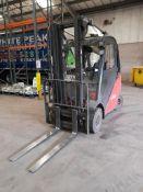 Linde H25 2,500kg gas Forklift Truck, S/N H2X392U0