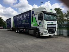 Daf FAS XF 510 6x2 Super Space Chassis Cab curtain