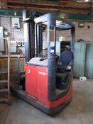 Lansing Linde R16N 1,600kg electric reach truck, S/N 113H07003116, Year 1997, thorough examination