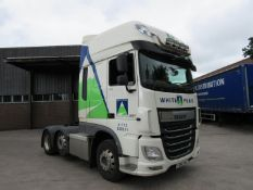 Daf FTG XF:510 6x2 Euro 6 space cab tractor unit,