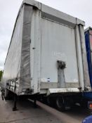 W Trailer, STAA3 Double deck curtain side trailer,
