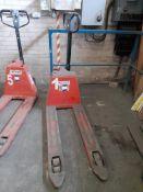 Liftek EPT20-15EHJ electric pallet truck, capacity 1,500kg, S/N 424190315 (No keys)