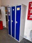 10 – single door lockers