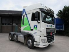 Daf FTG XF:510 6x2 Euro 6 Super space cab tractor