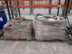 """2 pallets of film fronted bags, 10"""" x 10"""""""