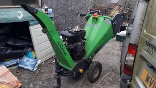 Greenmech CS100 Tow Along Wood Chipper, Serial Number 180320 (2018) with Spare Blades