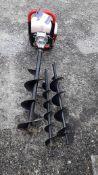 Earth Auger D2-65 Petrol Engine Post Hole Borer