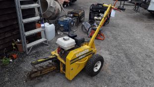 Trackmaster TR12 Petrol Engine Trencher (2008)