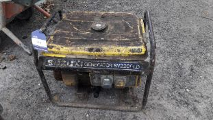 Suzuki SV2200LD Portable Generator (Requires Service)