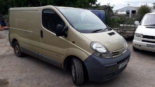 Nissan Primastar SE Panel Van, Registration LD54 E