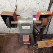 Vicroy TDS/7/DE Twin Wheel Buffer Machine