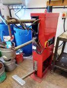 Tecna TE25 Spot Welding Machine with Chiller. S/N: 0822.Year: 2005