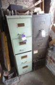 2x Various Filing Cabinets
