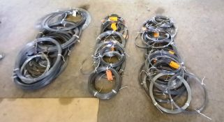 Large Quantity of Various Stainless Steel Wire Stock to Floor