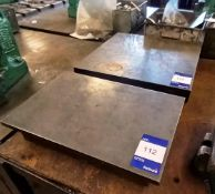 2x Various Sized Surface Tables
