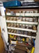 Contents to Nine Shelves to Include Screws, Nails, Rivets, Nuts and Bolts etc