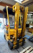 Cesab Forklift Truck ECO/ D 16.3 with Charger. 48v Battery, Weight 3,085kg. Lift Height: 3.2m. No Si