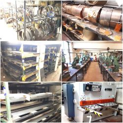 Engineering Machinery & Steel Stock Disposal Ref: Entire Assets of Lancashire Spring Company Limited