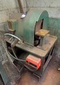 Unbranded Heavy Duty Single Wheel Grinding Machine.