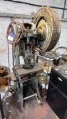 Horden Mason and Edwards Ltd L6 Downstanding Power Press. S/N: 10364