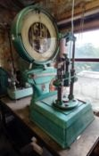 Steel Fabricated Manual Press with Avery Scale 220lb Capacity (Requires Unbolting and Sufficient Man