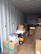 The remaining stock of a healthcare distributor; M