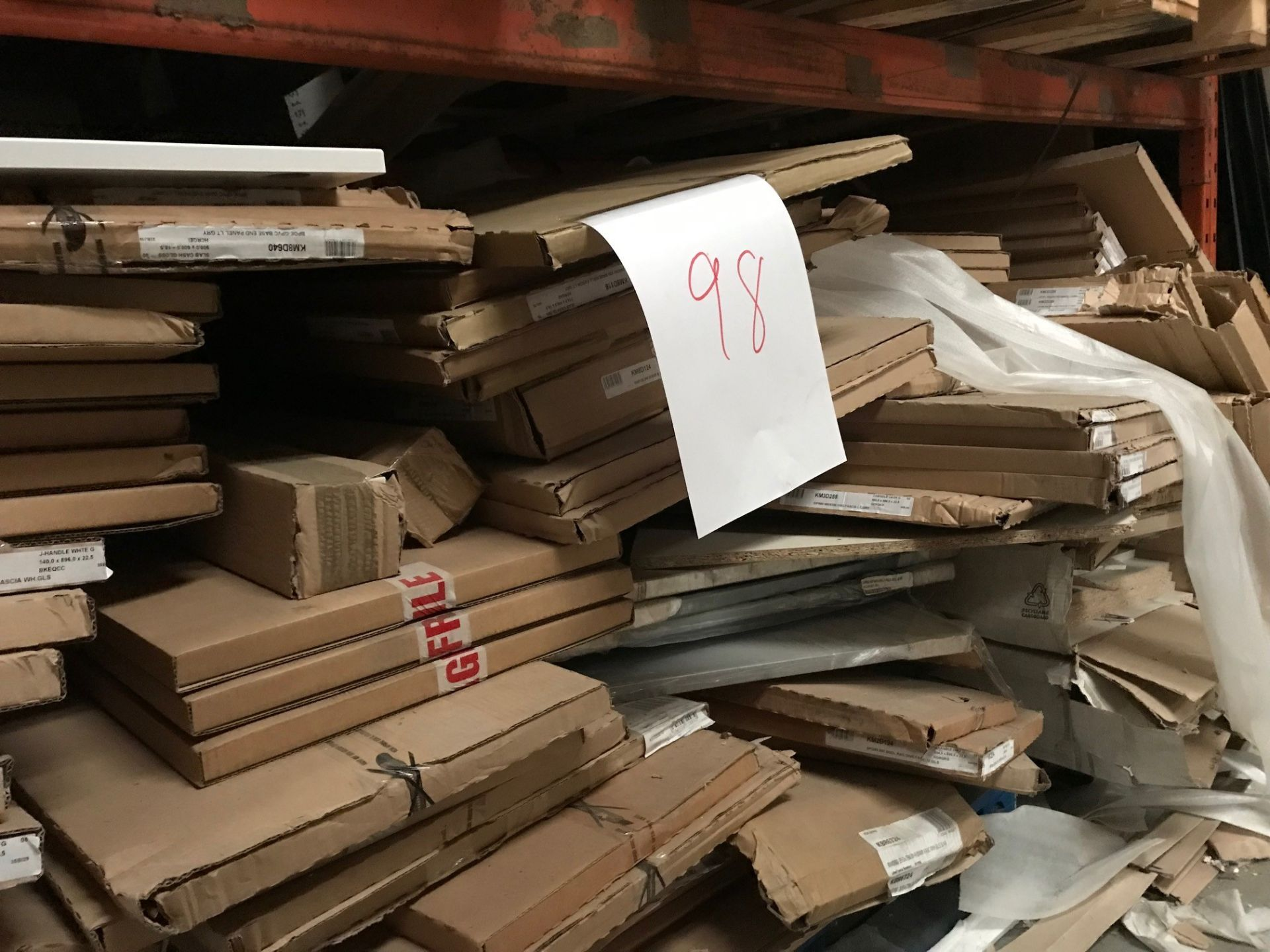 2 Pallets kitchen doors (Pallet 98) (viewing and collection from Unit B, Scotch Park Trading Estate,