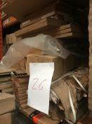 Kitchen Doors, Handles and End Panels, (Pallet 26) (viewing and collection from Unit B, Scotch