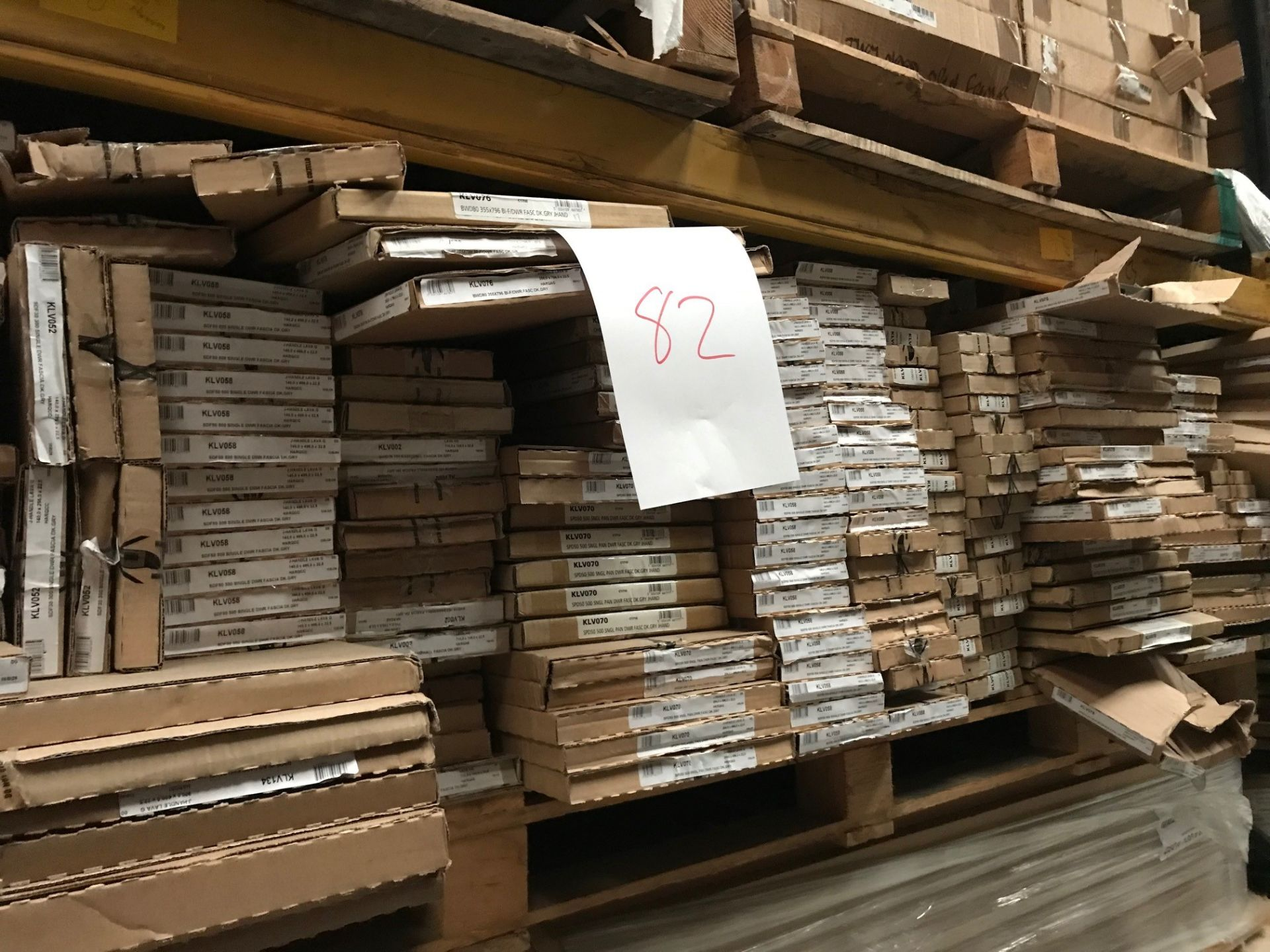 Long pallet of Doors (Pallet 82) (viewing and collection from Unit B, Scotch Park Trading Estate,