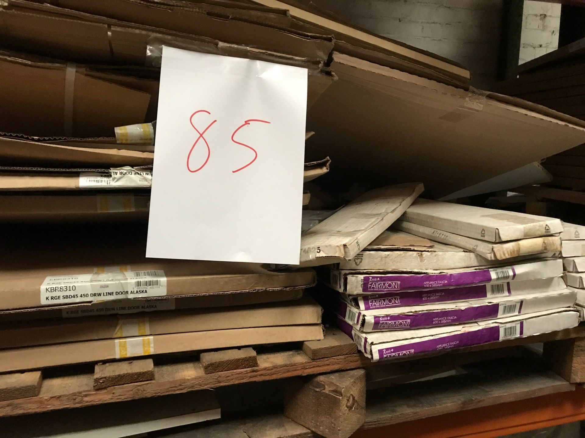 Kitchen Doors (Pallet 85) (viewing and collection from Unit B, Scotch Park Trading Estate, Forge