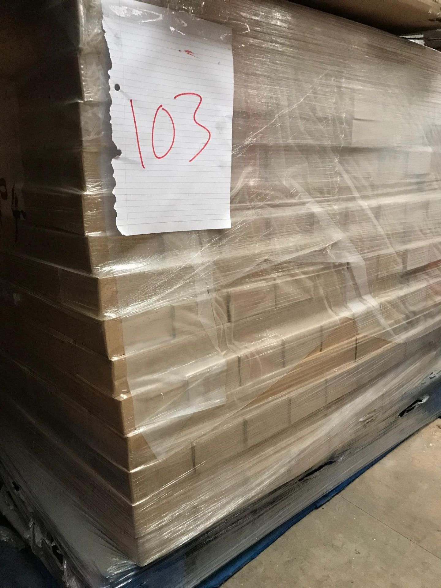 Cabinet legs (Pallet 103) (viewing and collection from Unit B, Scotch Park Trading Estate, Forge